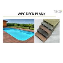 Piso Deck Wpc Plank Compuesto Terza (incluye Tornilleria)