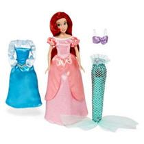 Set Especial De La Princesa Ariel Delux Guardarropa Disney