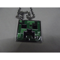 Bonito Collar Del Video Juego Minecraft
