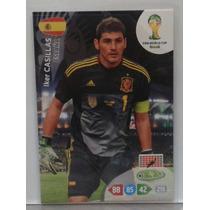 2014 Adrenalyn Xl Fifa World Cup Brazil Iker Casillas España