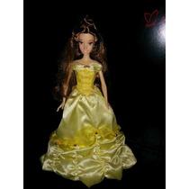 2 Hermosas Barbie Princesa Bella Disney