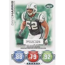 2010 Topps Attax Defense David Harris New York Jets