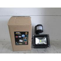 Reflector Led Con Sensor De Movimiento De 10 Watts Vv4