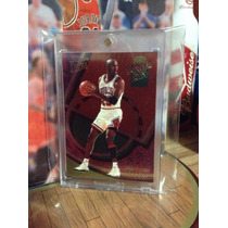 Michael Jordan Tarjeta Ultra Power In The Key 93-94 Vv4