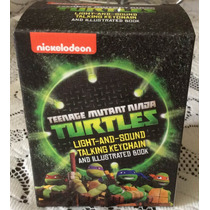 Llavero Luz Y Sonido Iman Tortugas Ninja Turtles Tmnt Hm4