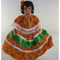 Muñeca Con Traje Típico De Sinaloa