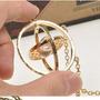 Giratiempo Saga Harry Potter Coleccion Chapa De Oro 18k Vv4