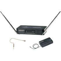 Mic Inalambrico De Diadema Miniatura Vhf Audio-technica