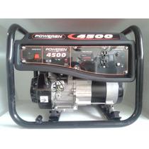 Planta De Luz Pw4500 Watts A/manual Marca Poweren