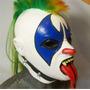 Mascara Luchador Psycho Clown Payaso Incluye Envio