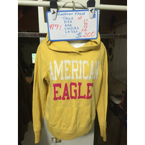 Sudadera American Eagle Talla Seminueva 4191