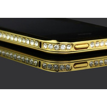 Bumper Aluminio Cristal Diamantes Swarovski Iphone 5 5s