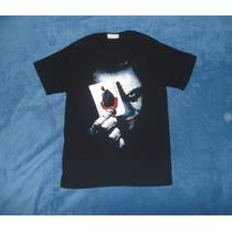 Playera Camiseta Batman Dark Knight Joker Guasón Carta