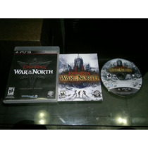 Lord Of The Ring War In The North Completo Play Station 3