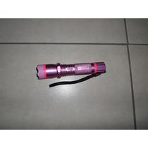Lampara Con Paralizador Stun Gun O Descarga Electrica Rosa