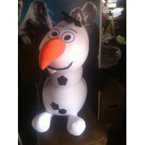 Hermosa Almohada Mediana Olaf Frozen Igo Disney!