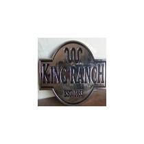 Ford King Ranch Emblema Lateral King Ranch
