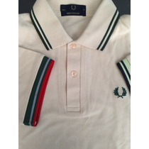 Fred Perry Cream Hecha En Inglaterra 38