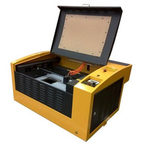 Maquina Grabado Corte Laser 30x40 40w Sistema Rotativo