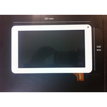 Touch Cristal Blanco Tablet 7 Rca Y Philips Mobo Mt7-412
