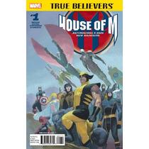 House Of M #1 True Believers Inglés Nuevo