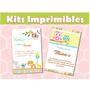 Invitaciones Baby Shower Kit Listo Para Imprimir!