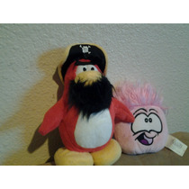 Club Penguin Pirata Y 2 Puffles Se Venden Juntos