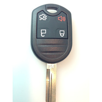 Carcasa Para Llave Control Ford 3 Botones + Pánico