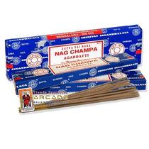 Incienso Hindu Nag Champa -kit Con 5 Paquetes 12 Varitas C/u