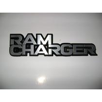 Emblema De Ram Charger Original