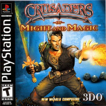 Crusaders Of Might Magic Para Playstation 1 Solo Disco