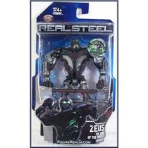 Real Steel Gigantes De Acero Zeus Robots 12 Cms Con Luz