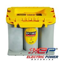 Batería De Gel Optima Tipo 35 Tapa Amarilla