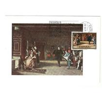 España Pinturas E Rosales 1977 Tarjeta Maxima Presentación