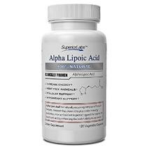 # 1 Ácido Alfa Lipoico - 600 Mg Potente 4 Meses De Suministr