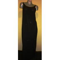 Vestido Negro A Wild Thyme Talla 14w (36-mex) Tessa Boutiqu