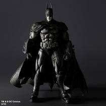 Sdcc 2012 Play Arts Kai Akham Asylum Batman White & Black