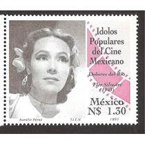 Estampilla Idolos Populares Dolores Del Río 1993 Vbf