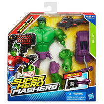 Hasbro Marvel Mashers Hulk, Anunciado En Tv, 17 Diferentes