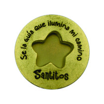 Moneda Milagrosa Estrella - Santitos