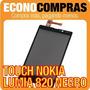 Touch Screen Para Nokia Lumia 820 Color Negro 100% Nuevo!!!!