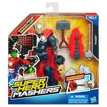 Hasbromarvel Mashers Iron Patriot, Anunciado En Tv, 17 Difer
