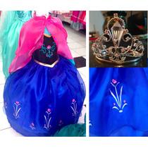 Vestido Ana Y Elsa Frozen Disney Princesas