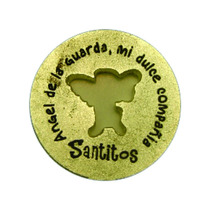 Moneda Milagrosa Angel - Santitos