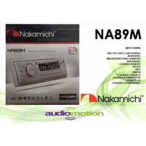 Autoestereo Nakamichi Na89m Bluetooth Usb Sd Mp3 Marino