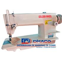 Máquina Plana De Alta Velocidad Cs-5100hl Golden Wheel