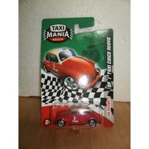 Taxi Mania Taxi Chico Nuevo Vw Volskwagen Df Rojo 1:64