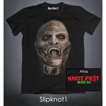 Playeras Slipknot Knotfest Corey Taylor Lamb Of God
