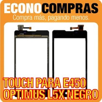 Touch Screen Para Lg Optimus L5x E450 Negro 100% Nuevo!!!!!!