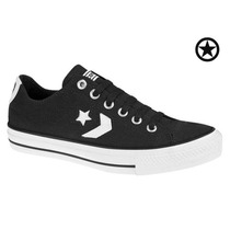 Tennis Converse Star Player 3469 Negro Para Caballero